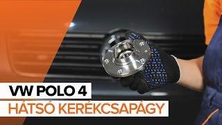 VW POLO javítási csináld-magad - videó-útmutatók
