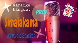 Download Karaoke Simalakama - Wiwik Sagita - Nada Pria (Karaoke Dangdut Lirik Tanpa Vocal)