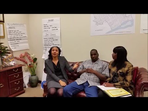 Mary Sheffield, Detroit City Council Dist 5 - Community Shall Be Restored, Prophet Cedric Banks