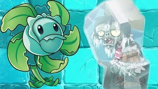 Plants vs Zombies 2 - Frostbite Caves Part 1 Day 1 New Zombies