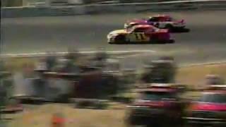 ARCA - 1995 -  FLAT ROCK -  A C DELCO - 150  - #  44 -  R - C - CHECKER  FLAG - WINDSOR ONTARIO   -