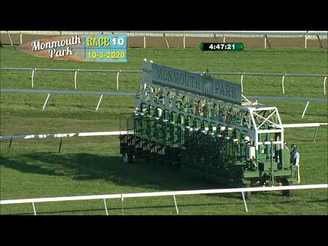 video thumbnail for MONMOUTH PARK 10-3-20 RACE 10 – VIRGIL BUDDY RAINES STAKES