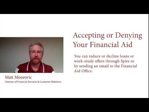 Accepting Of Declining Aid - UMass Amherst Financial Aid FAQs