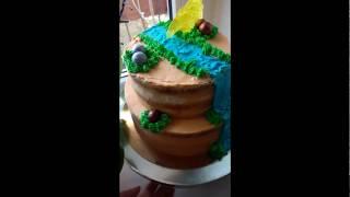 Ярусний торт/ Діноторт/ Ярусный торт/ Диноторт