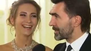 Ксения и Вячеслав Бутусовы на балу дебютанток 2012