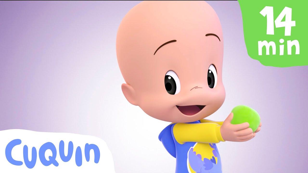 A Mochipanda do Cuquin 🐼  e mais vídeos educativos   Desenhos animados para bebês