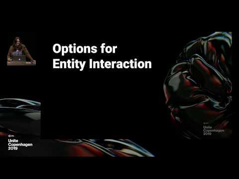 Options for Entity interaction - Unite Copenhagen