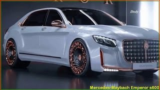 Mercedes Maybach S600 - 2017 Mercedes Maybach Emperor S600 Reviews