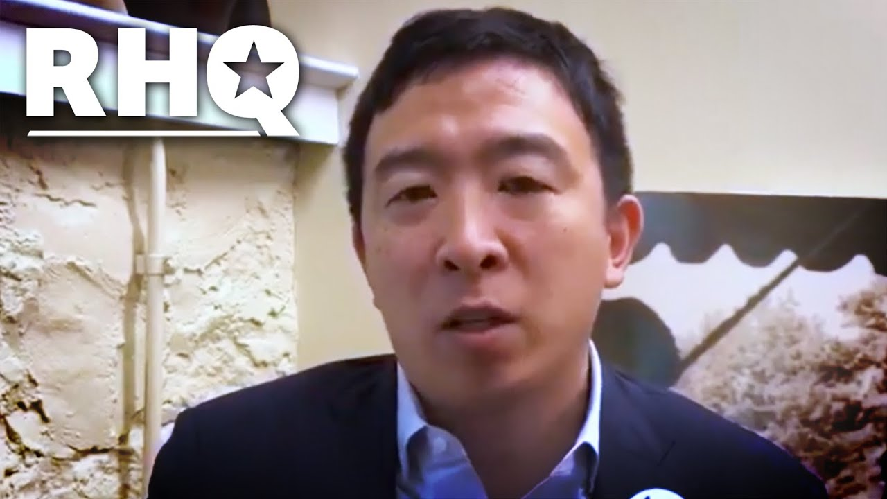 Andrew Yang Answers YOUR UBI Questions