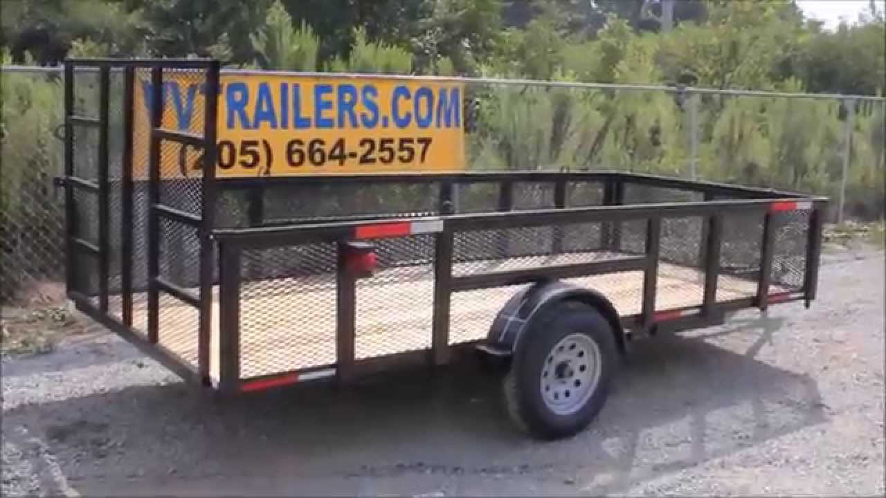Trailer World Montgomery Al >> Alabama Utility Trailers For Wholesale Prices Vvtrailers