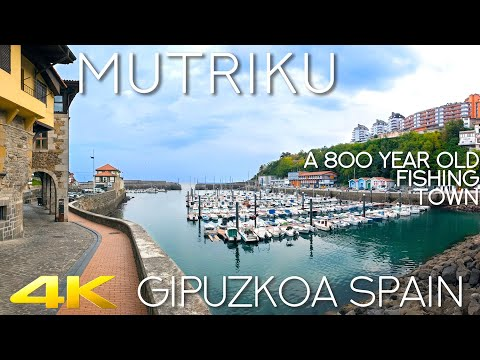Tiny Tour | Mutriku Spain | An 800 Year Old Fishing Town In Northern Spain 2019 Autumn
