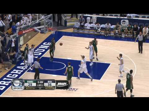 BYU vs. Eastern New Mexico Men's Basketball Highlights