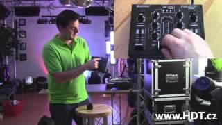 Omnitronic PM-211P DJ mix pult s MP3 přehrávačem