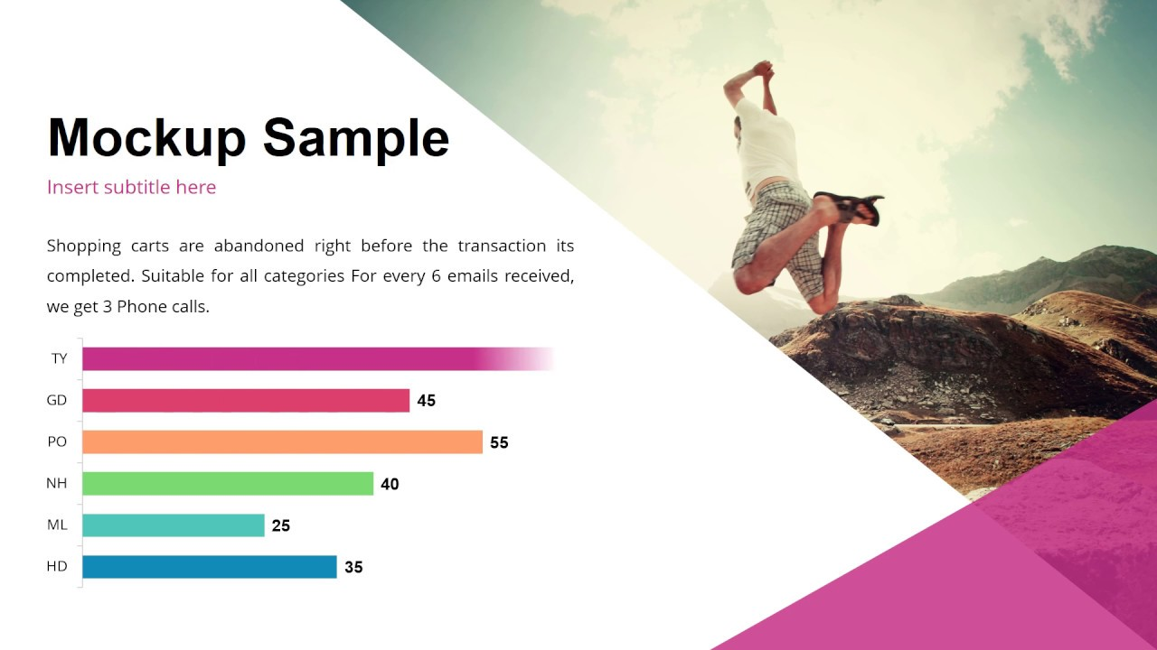 financial presentation - powerpoint template