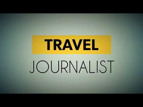 TRAVEL JOURNALIST INTRO