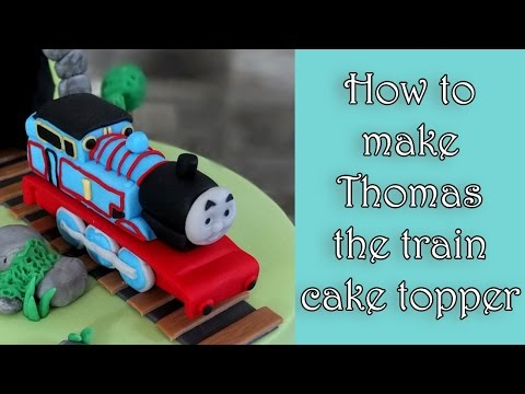 Thomas The Train Fondant Cake Tutorial