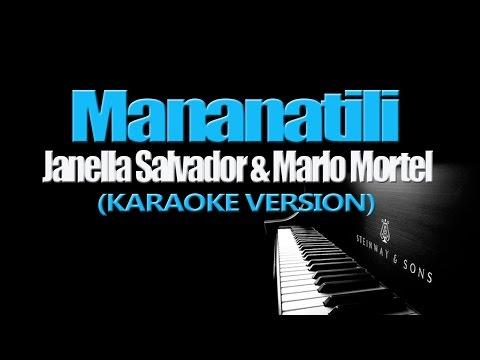 MANANATILI - Janella Salvador, Marlo Mortel (KARAOKE VERSION)