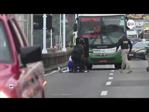 الشرطة تقتل مسلحا احتجز رهائن في حافلة في البرازيل  - نشر قبل 2 ساعة