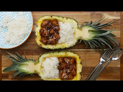 Sticky Pineapple Chicken