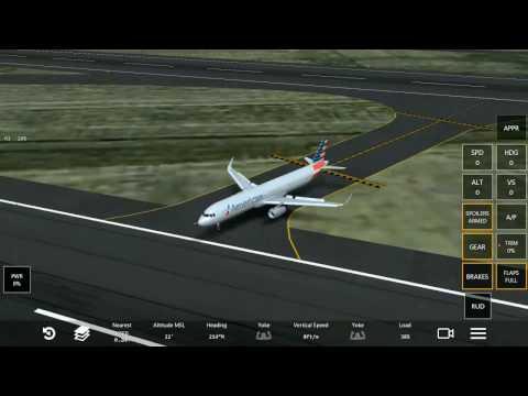 American Airlines Flight 85 (AA85) landing at SFO (Infinite Flight Simulator)