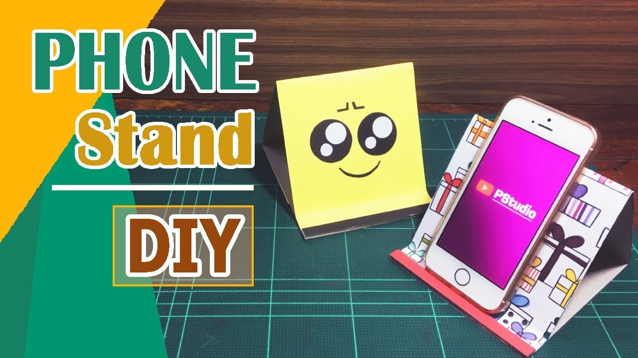 Diy Cell Phone Stand Phone Holder Tutorial
