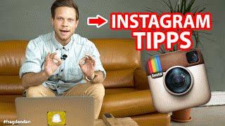 🔥INSTAGRAM - 5 Tipps für mehr Follower & Likes🔥 | #FragDenDan