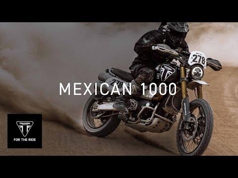 New Scrambler 1200 XE completes Mexican 1000