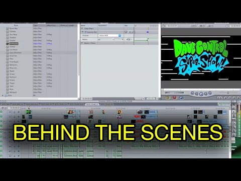 Behind the Scenes - Making a Super Show / Comedy Gaming Retrospective