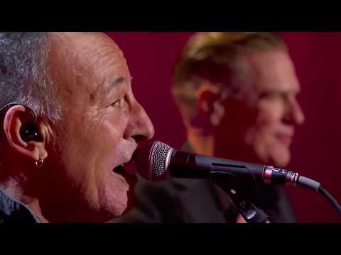 Bruce Springsteen & Bryan Adams - Badlands - Invictus 2017 Toronto September 30 2017