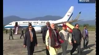 PM Modi inaugurates development projects in Northeastern states: Mizoram News