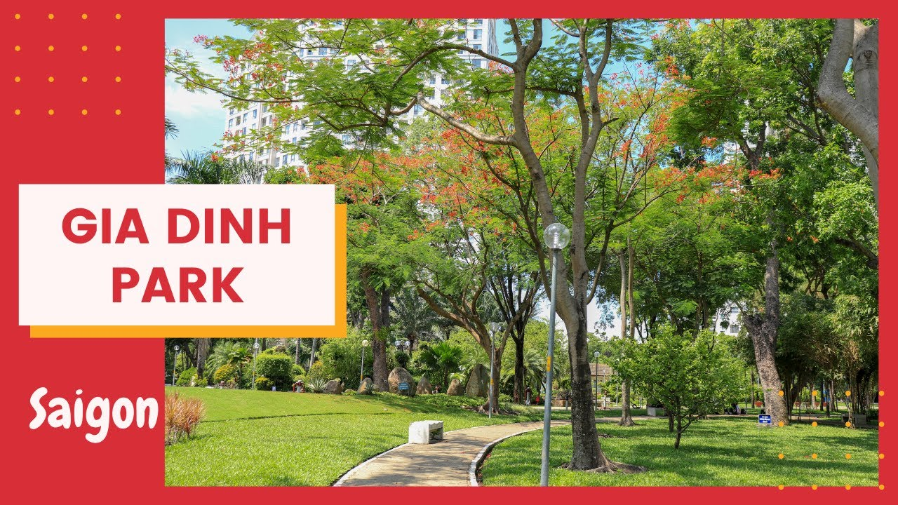 Gia Dinh Park - The Green Lung of Ho Chi Minh City #giadinhpark #congviengiadinh #hochiminhcity #vn