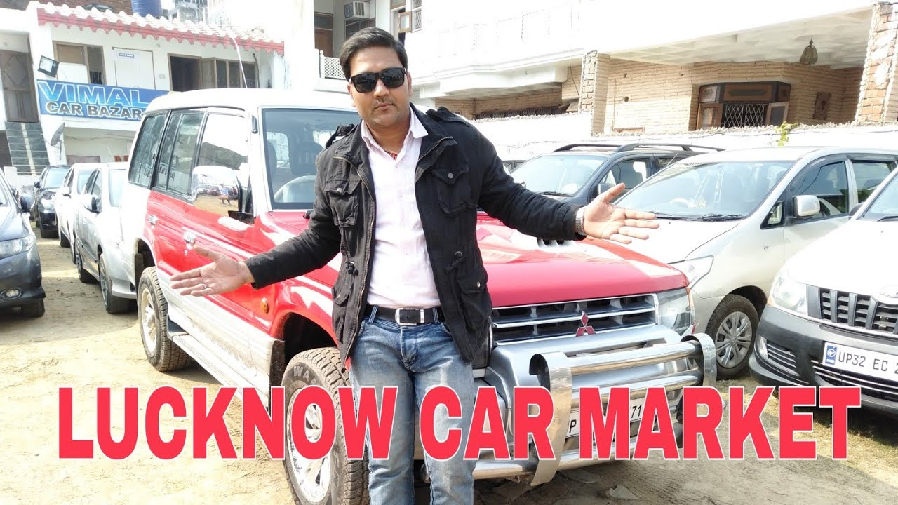 Lucknow Car Second Hand Market Bmw Pajero Youtube