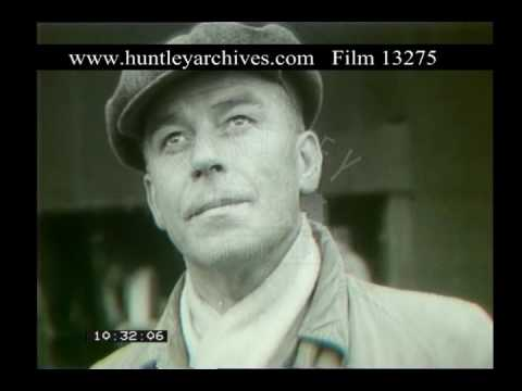 Barrow In Furness Shipyard, 1950s - Film 13275
