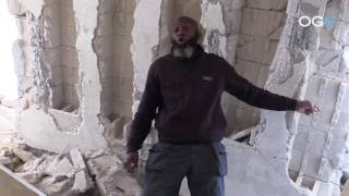 Complete on Site Walk thru of US Massacre of 56 in Syria