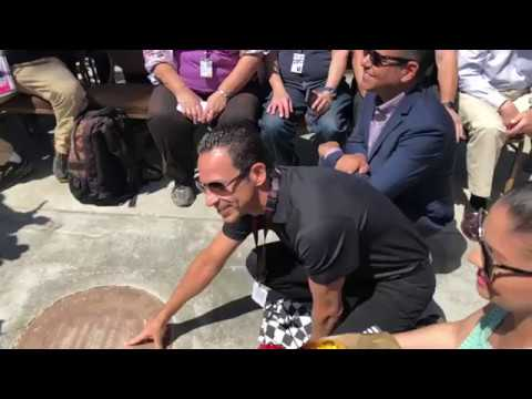 Hélio Castroneves I Long Beach Motorsports Walk of Fame