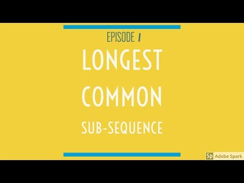 How To Create File Diff Tool Using Longest Common Sub-Sequence Algorithm? | E1