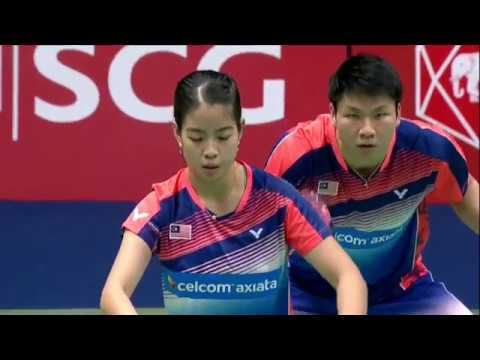 SCG Thailand Open 2017 | Badminton SF M4-XD | Pau/Tae vs Goh/Lai