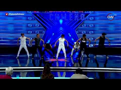 Big Boys deja todo en el escenario con un baile de K Pop - TALENTO CHILENO 2015