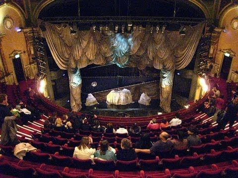 Beware Terrible view from normal price balcony seats Phantom of the Opera Her Majesty's Theatre
