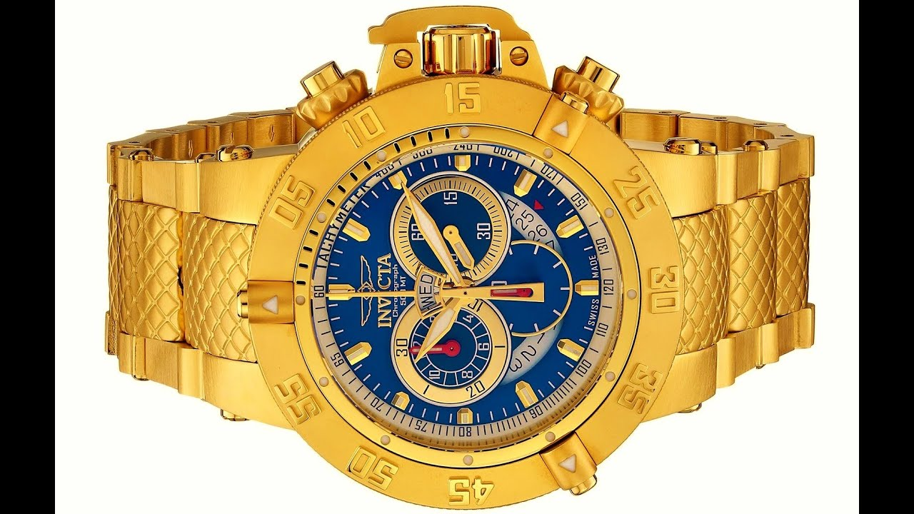026ee3270ea Invicta Men s 5404 Subaqua Collection Chronograph Watch - YouTube