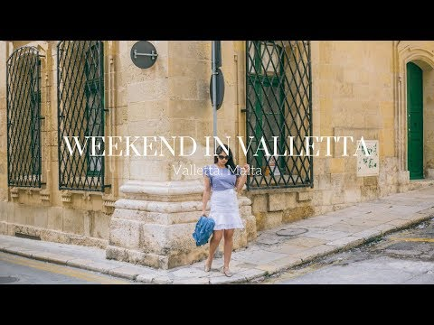Weekend in Valletta • Valletta, Malta • Chevrons & Éclairs