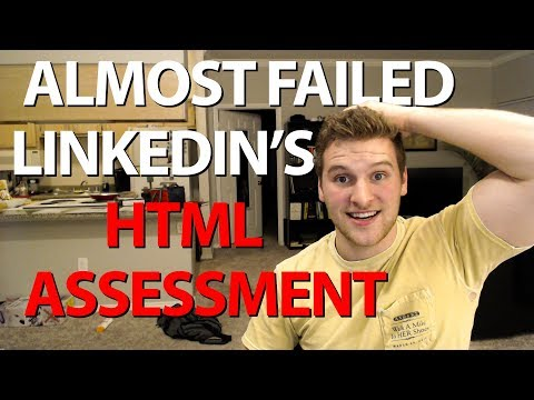 Can We Pass Linkedin's HTML Assessment?