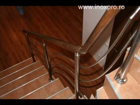 balustrade inox lemn modele balustrade inox inoxpro. Black Bedroom Furniture Sets. Home Design Ideas
