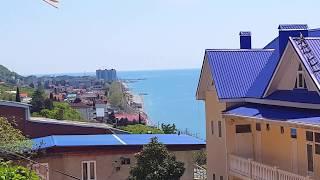 ЛАЗАРЕВСКОЕ СОЧИ Новый старый пляж в Лазаревском Чуть не умер от поезда подъема а тут еще змея
