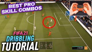 10 AMAZING PRO SKILL MOVES \u0026 COMBOS THAT YOU SHOULD LEARN - FIFA 21 DRIBBLING TUTORIAL