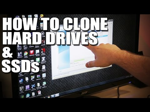 How to clone a Hard Drive or SSD