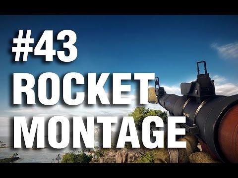 Battlefield 4 - Anti Air Rocket Montage #43