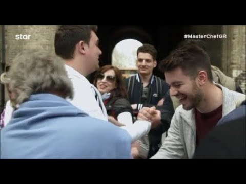 MasterChef Greece 2018 (Επ. 82) – Έλληνες συνάντησαν στην Ιταλία οι παίκτες!