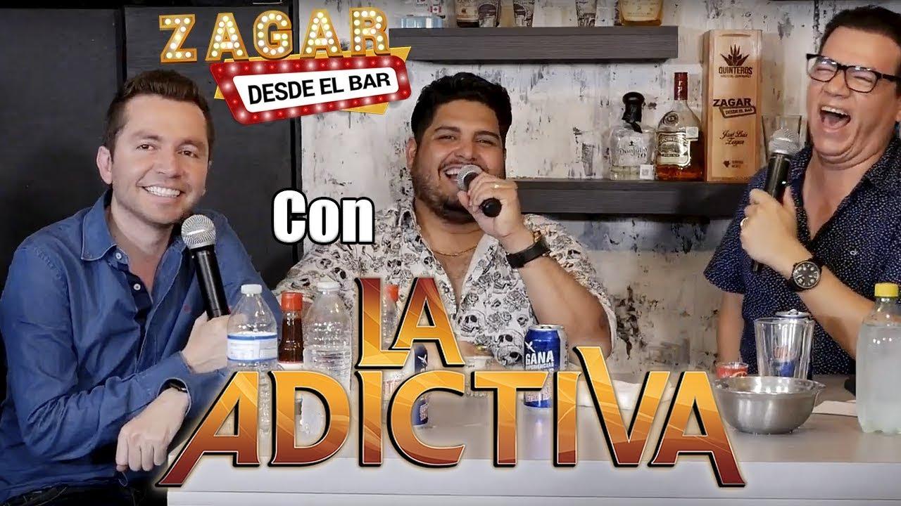 Zagar desde el Bar con La Adictiva - YouTube