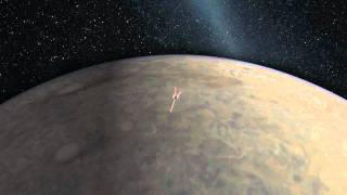 Juno de-orbit animation